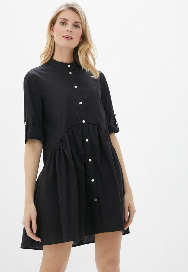 женское повседневные платье perfect j, черное