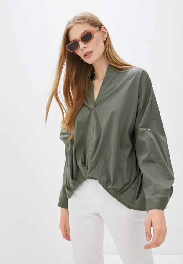 женская блузка perfect j, зеленая