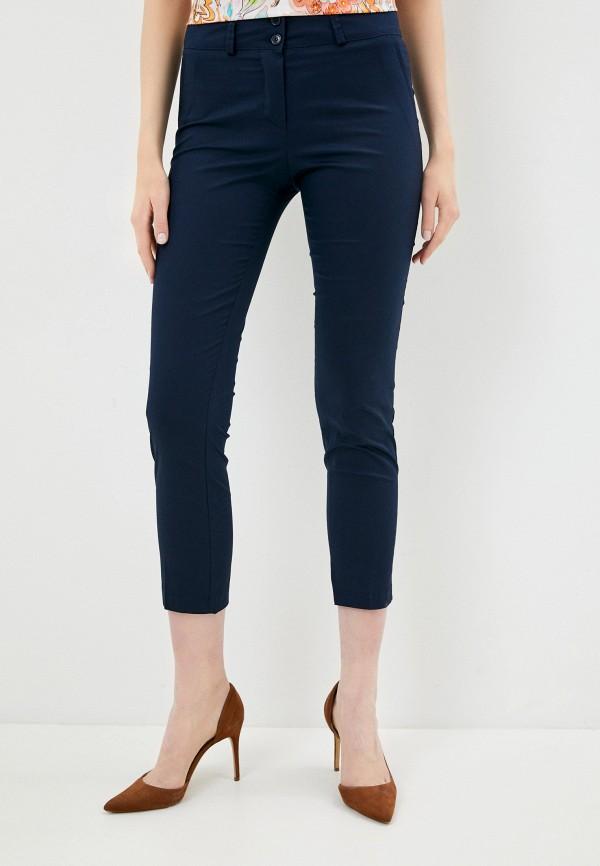 женские повседневные брюки perfect j, синие