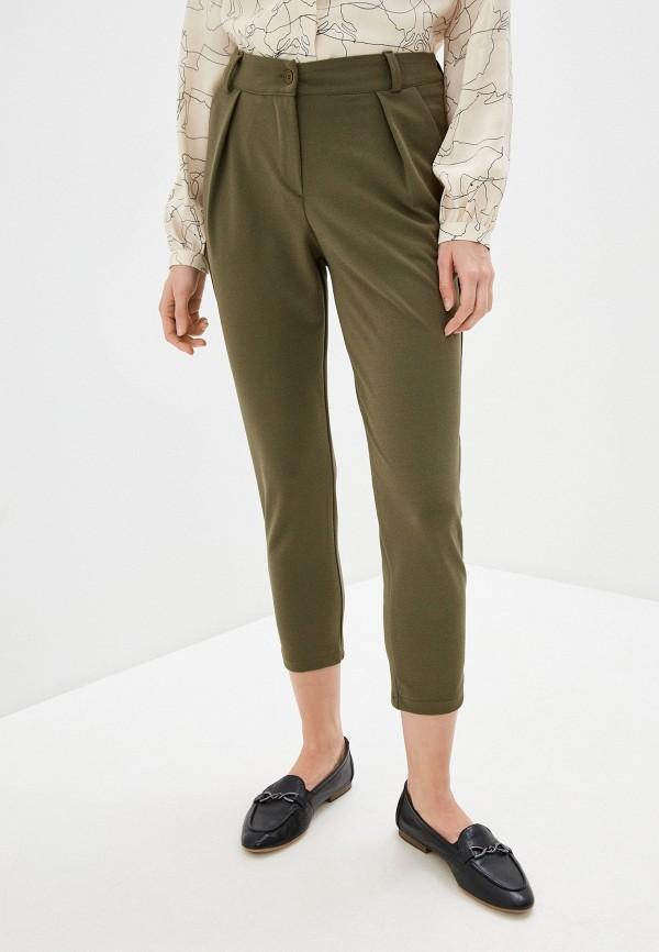 женские классические брюки perfect j, хаки