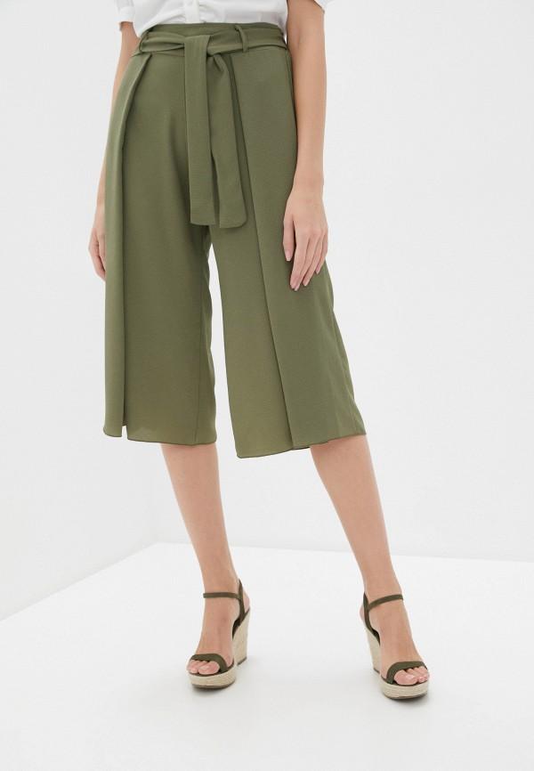 женские брюки perfect j, зеленые