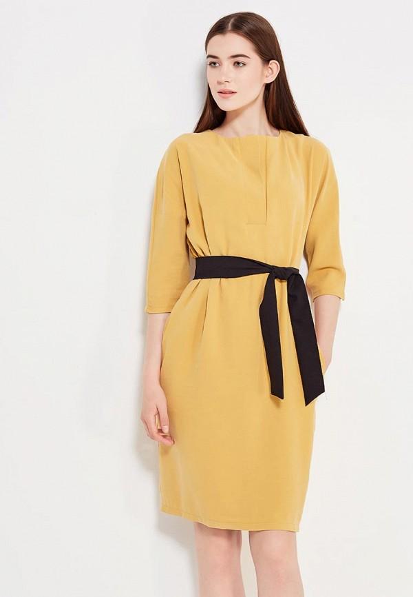 женское повседневные платье peperuna, желтое