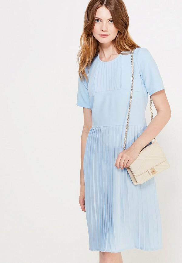женское повседневные платье peperuna, голубое