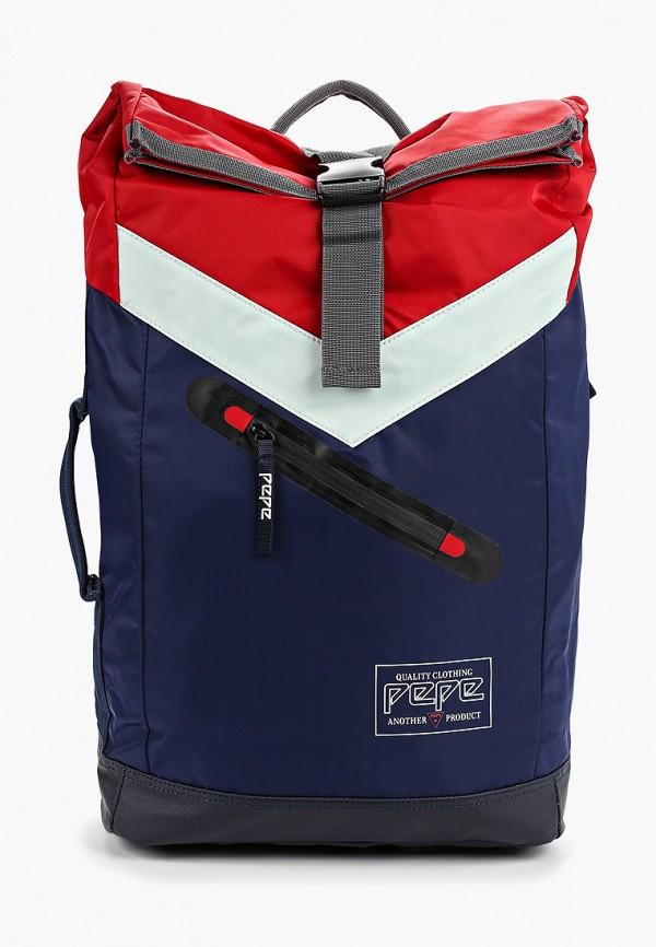 мужской рюкзак pepe jeans london, разноцветный