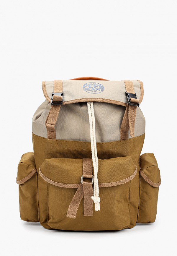 мужской рюкзак pepe jeans london, бежевый