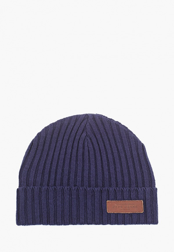 мужская шапка pepe jeans london, синяя