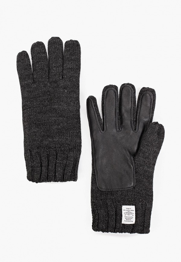 мужские перчатки pepe jeans london, серые