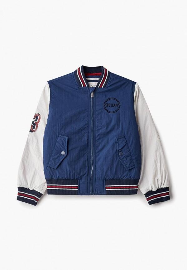 Купить Куртка Pepe Jeans, PE299EBBNJP1, синий, Осень-зима 2018/2019