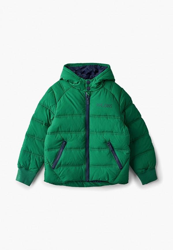Фото - Куртка утепленная Pepe Jeans Pepe Jeans PE299EBBNJP2 куртка женская pepe jeans цвет зеленый 097 pl401555 664 размер m 44 46