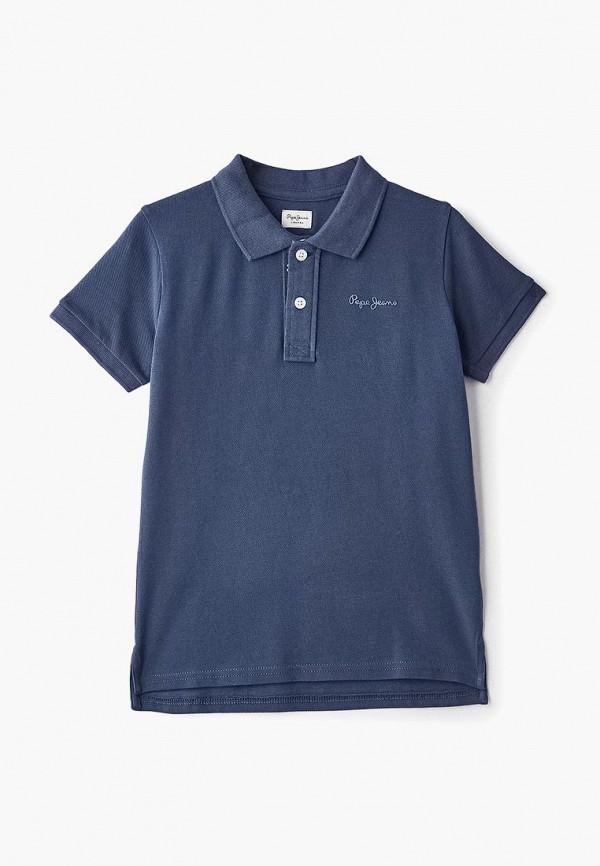 Поло Pepe Jeans Pepe Jeans PE299EBDHGV0 блузка женская pepe jeans цвет синий 097 pl303141 551 размер l 48 50