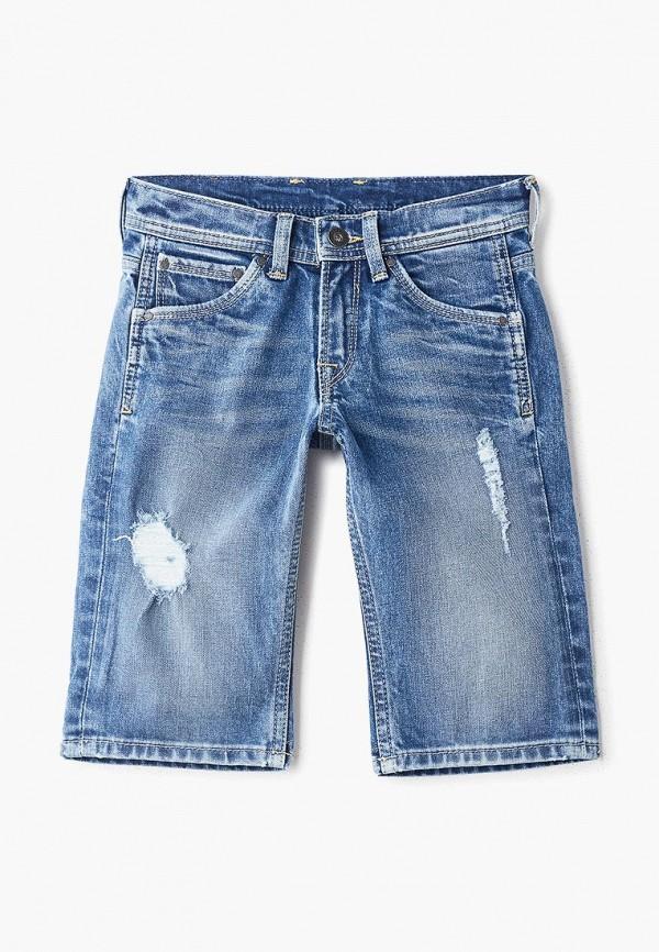 купить Шорты джинсовые Pepe Jeans Pepe Jeans PE299EBETFM7 по цене 2810 рублей