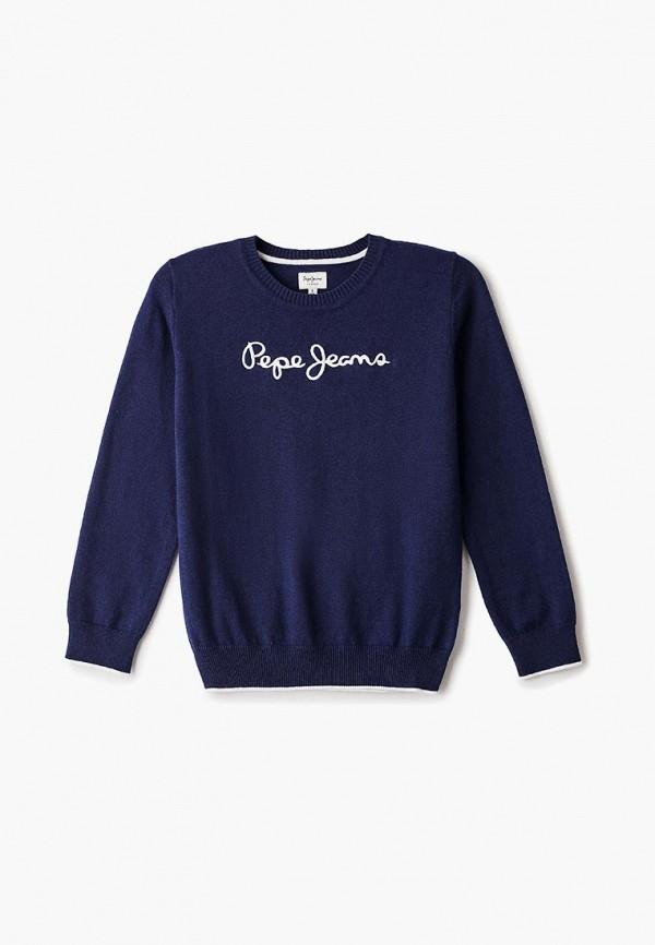 джемпер pepe jeans london для мальчика, синий