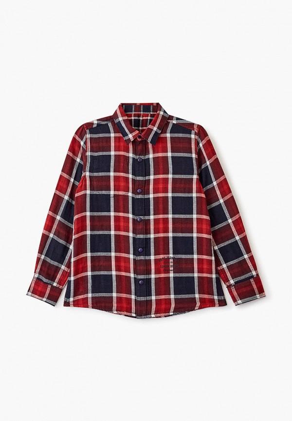 рубашка pepe jeans london для мальчика, красная