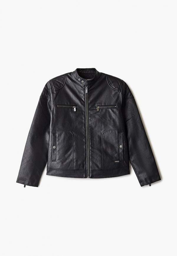 кожаные куртка pepe jeans london для мальчика