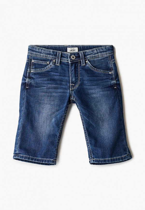 джинсовые шорты pepe jeans london для мальчика, синие