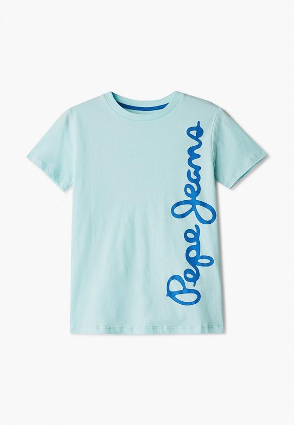 футболка pepe jeans london для мальчика