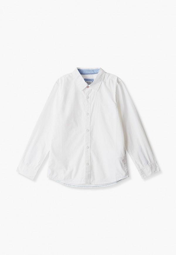 рубашка pepe jeans london для мальчика, белая