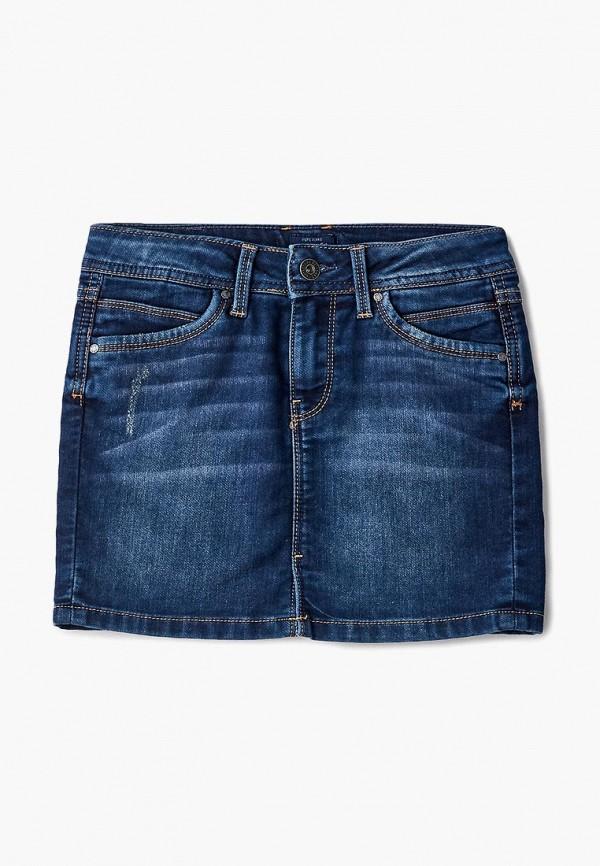 Юбка джинсовая Pepe Jeans Pepe Jeans PE299EGBNHD6 юбка pepe jeans pepe jeans pe299ewtzz71