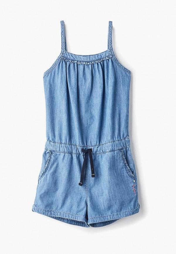 Купить Комбинезон джинсовый Pepe Jeans, pe299egetfr3, голубой, Весна-лето 2019