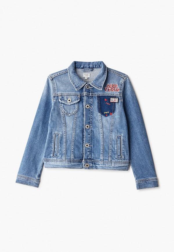 купить Куртка джинсовая Pepe Jeans Pepe Jeans PE299EGFWEZ0 дешево