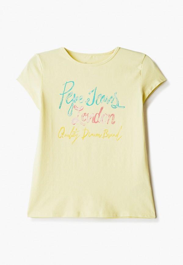 футболка pepe jeans london для девочки
