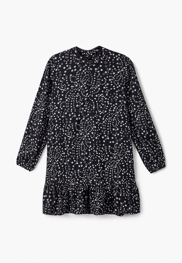 повседневные платье pepe jeans london для девочки, черное