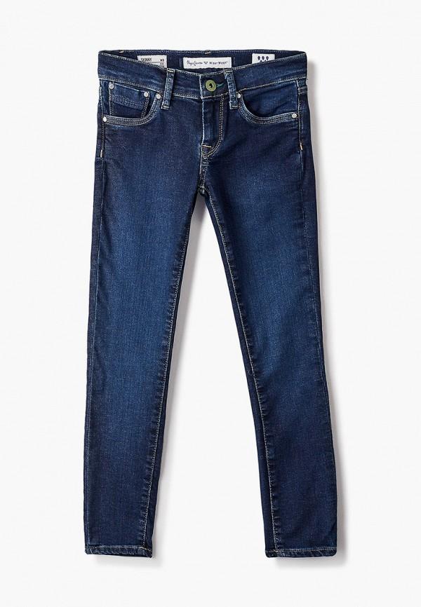 джинсы pepe jeans london для девочки, синие