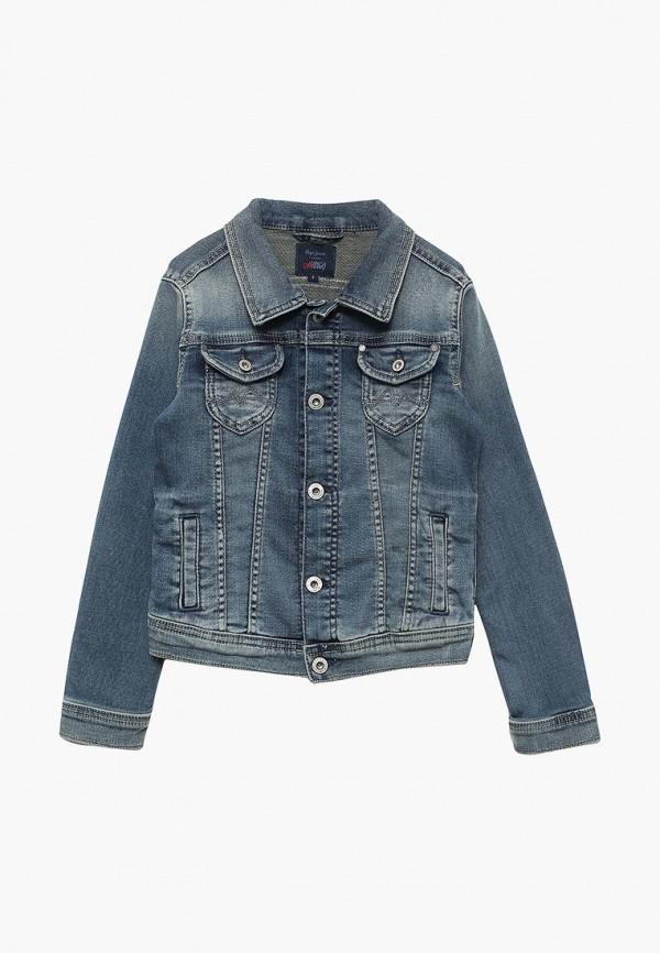 Купить Куртка джинсовая Pepe Jeans, PE299EGZEV55, синий, Весна-лето 2018