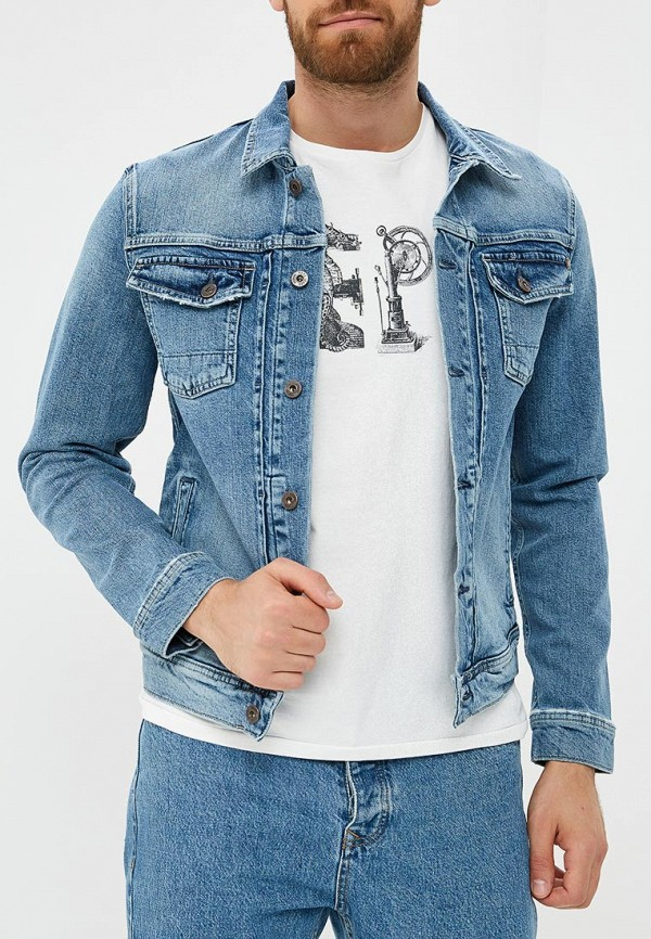 Куртка джинсовая Pepe Jeans Pepe Jeans PE299EMBNGY4 куртка джинсовая pepe jeans куртка джинсовая