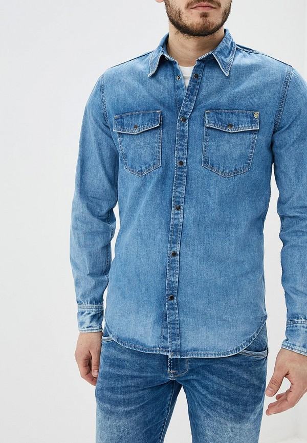 Рубашка джинсовая Pepe Jeans Pepe Jeans PE299EMDHGF2 цена и фото