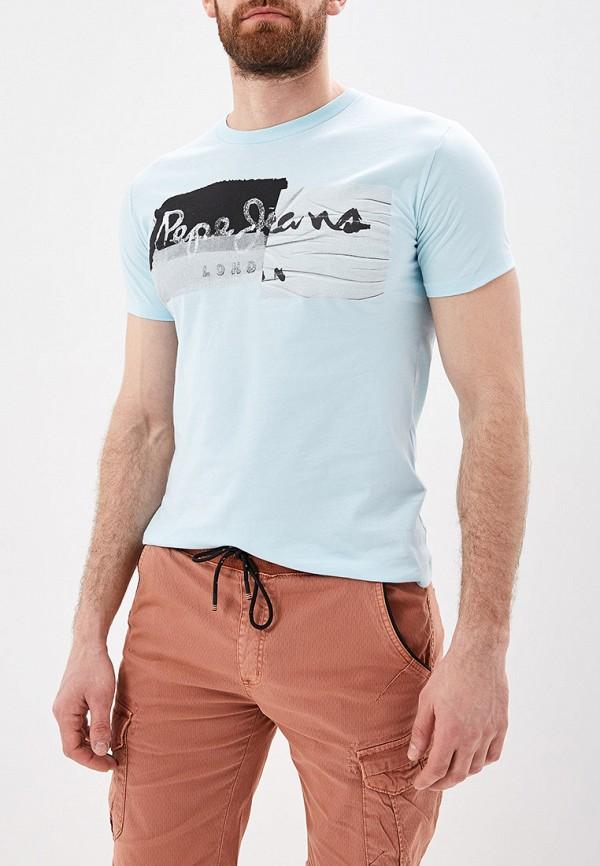 Футболка Pepe Jeans Pepe Jeans PE299EMEPWZ4 шуба pepe jeans pepe jeans pe299ewbtda5