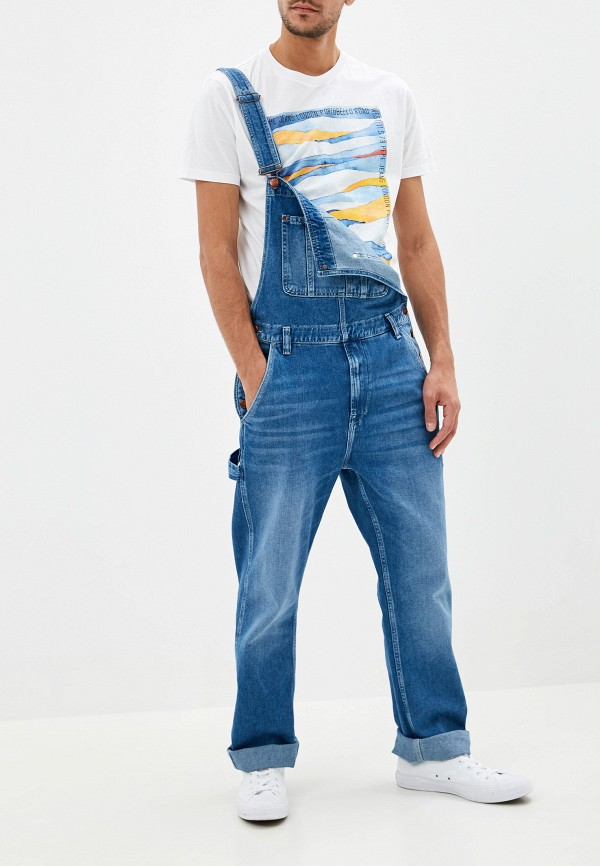 Комбинезон джинсовый Pepe Jeans Pepe Jeans PE299EMFWBE0 комбинезон pepe jeans pepe jeans pe299ewzgw53