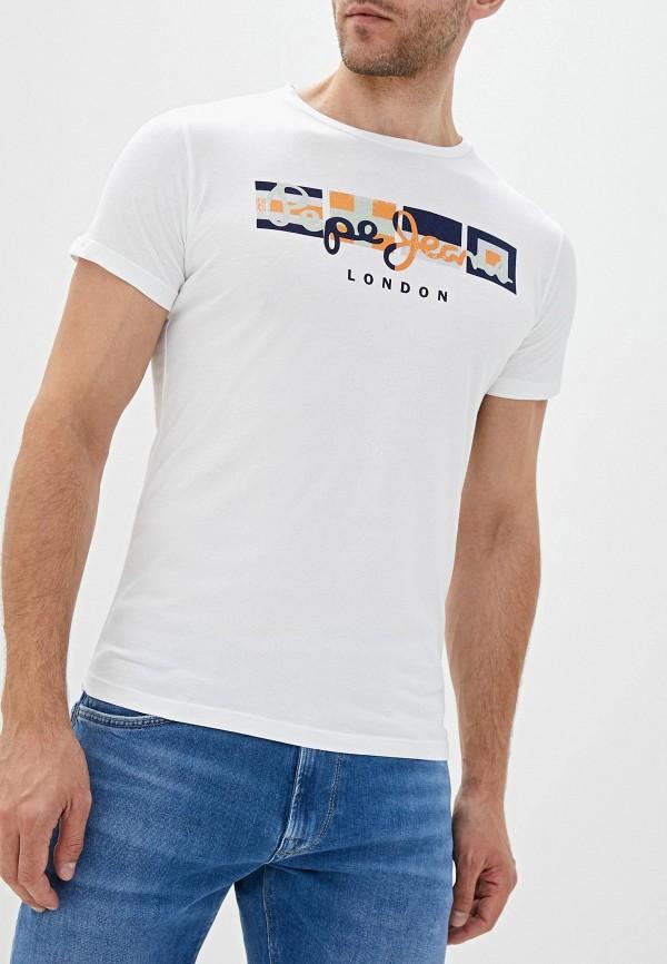 Футболка Pepe Jeans Pepe Jeans PE299EMFWBG0 футболка pepe jeans pepe jeans pe299ewbtct4