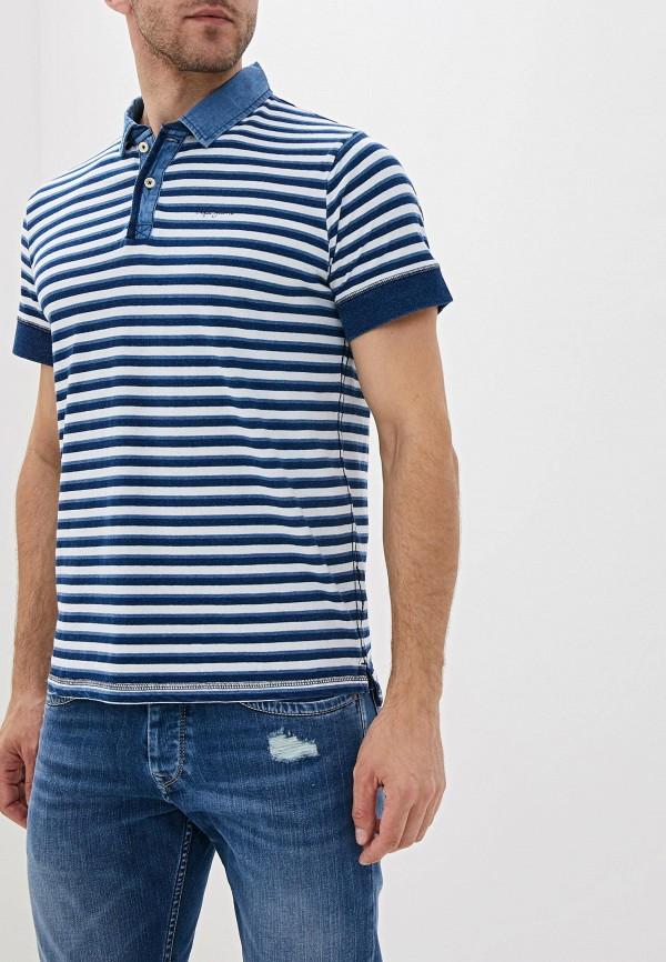 Поло Pepe Jeans Pepe Jeans PE299EMFWBH1 поло pepe jeans pepe jeans pe299emfwbh1