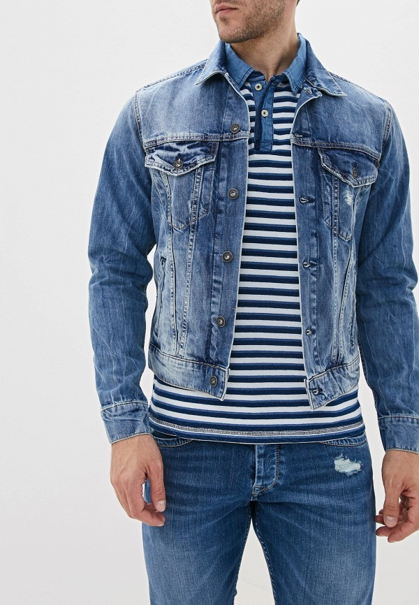 Куртка джинсовая Pepe Jeans Pepe Jeans PE299EMFWBI2 цена и фото