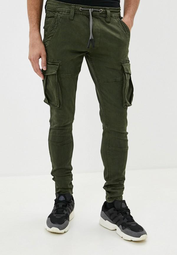мужские повседневные брюки pepe jeans london, хаки