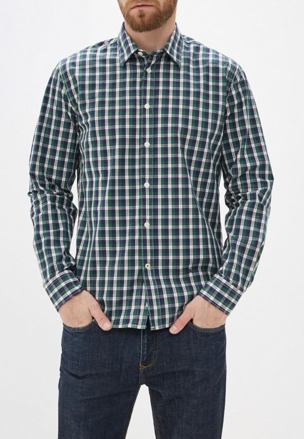 мужская рубашка с длинным рукавом pepe jeans london, зеленая