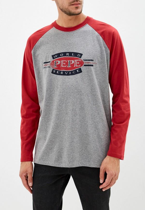 Лонгслив Pepe Jeans Pepe Jeans PE299EMFWWM4 цена и фото