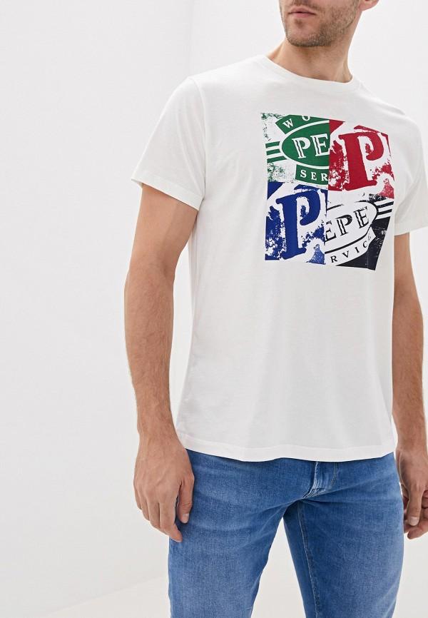 Футболка Pepe Jeans Pepe Jeans PE299EMFWWM7 футболка pepe jeans pepe jeans pe299ewetgi9