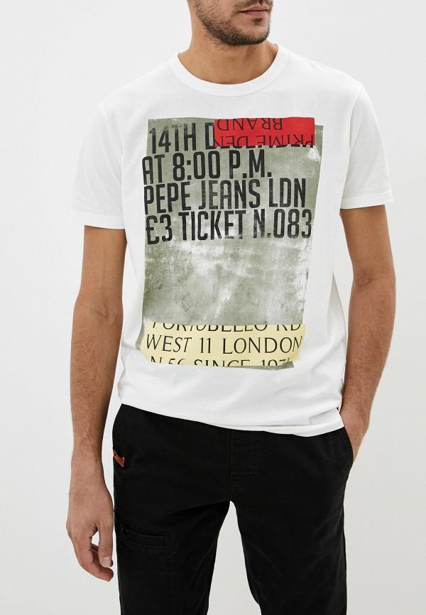 Футболка Pepe Jeans Pepe Jeans PE299EMFWWN4 футболка pepe jeans pepe jeans pe299ewbtct4