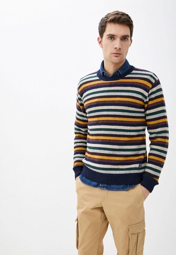 мужской джемпер pepe jeans london, разноцветный