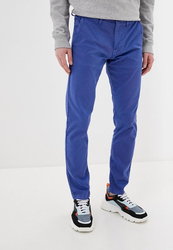 мужские брюки чинос pepe jeans london, синие