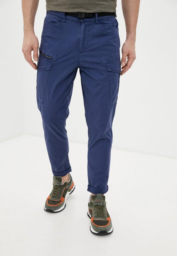 мужские брюки pepe jeans london, синие