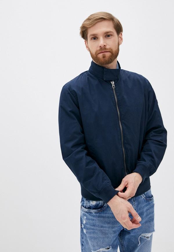 мужская легкие куртка pepe jeans london, синяя