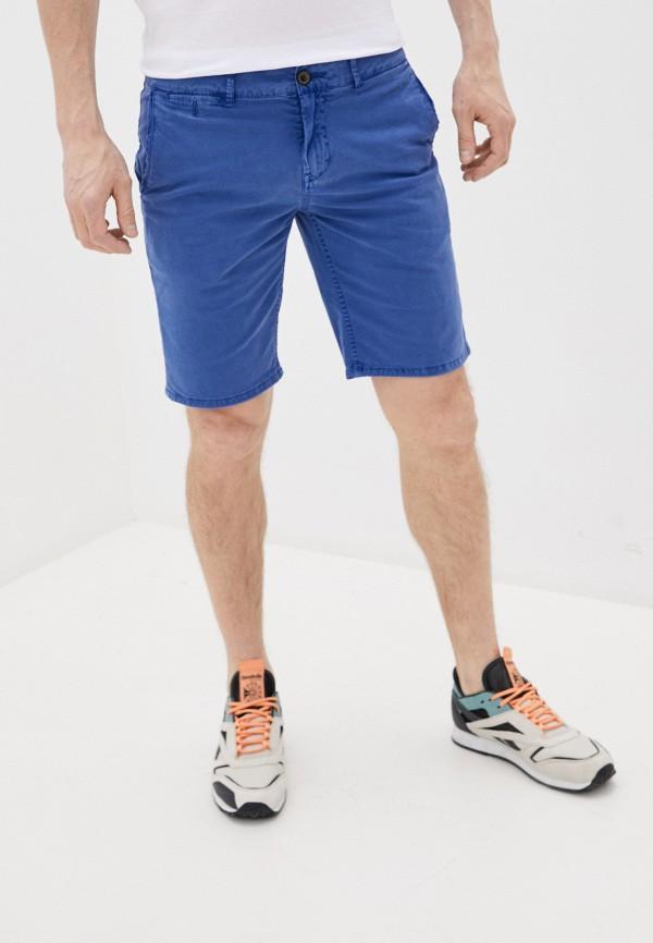 мужские повседневные шорты pepe jeans london, синие