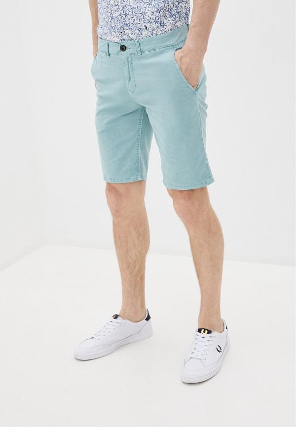 мужские повседневные шорты pepe jeans london, бирюзовые
