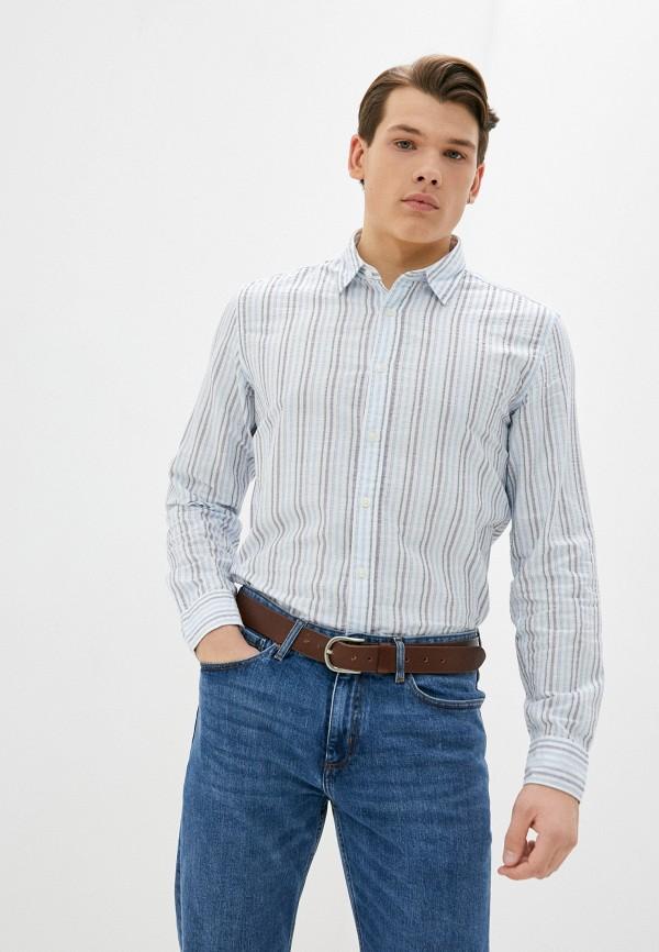 мужская рубашка с длинным рукавом pepe jeans london, разноцветная