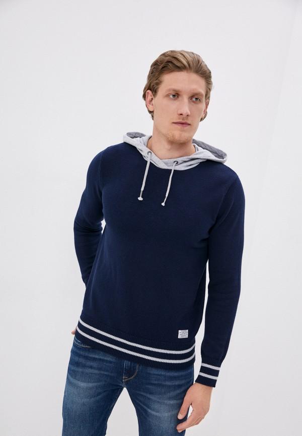 мужские худи pepe jeans london, синие