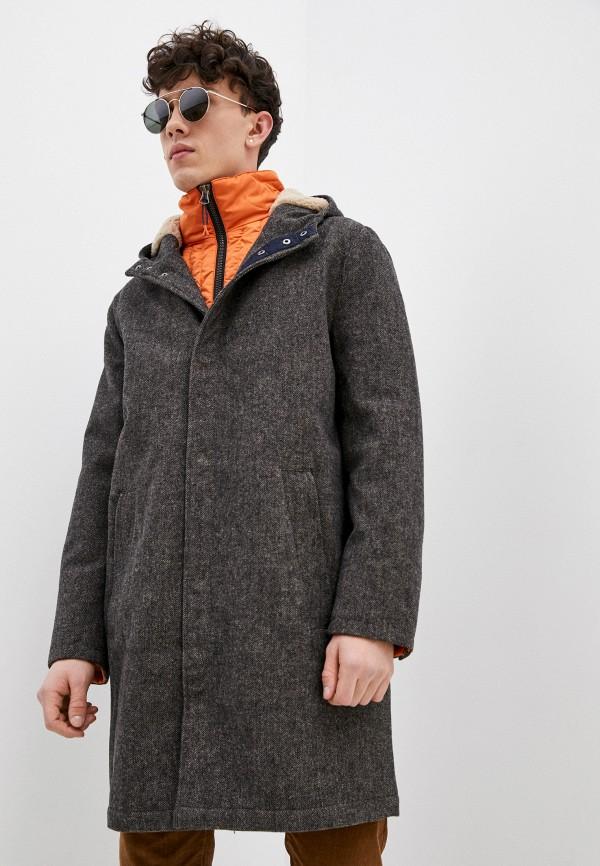 мужское пальто pepe jeans london, разноцветное