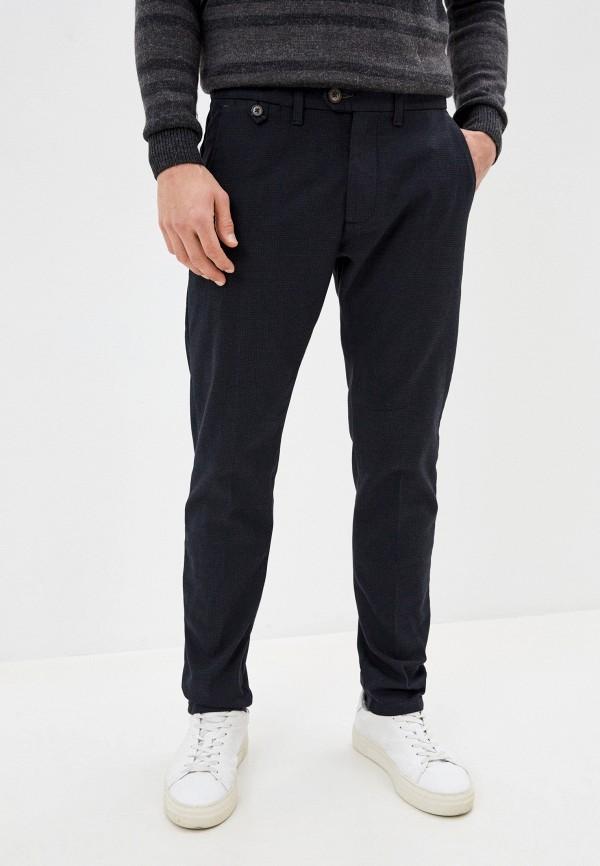 мужские классические брюки pepe jeans london, синие